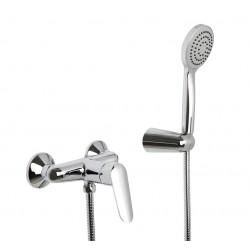 SPOT - Miscelatore doccia esterno con set doccia cromo